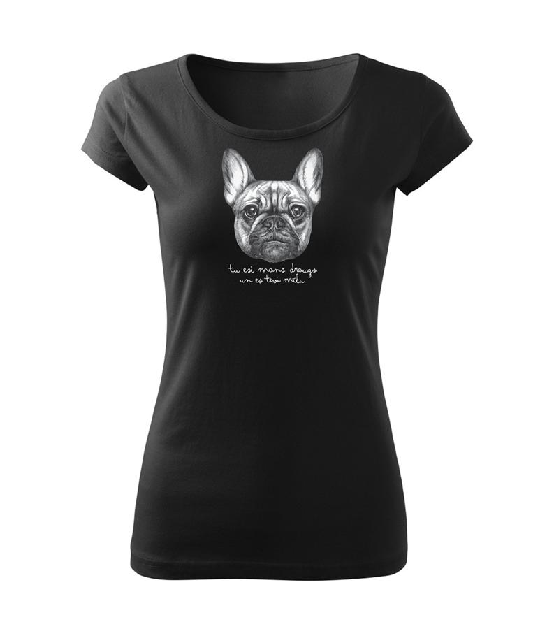Sieviešu T-krekls Franču buldogs