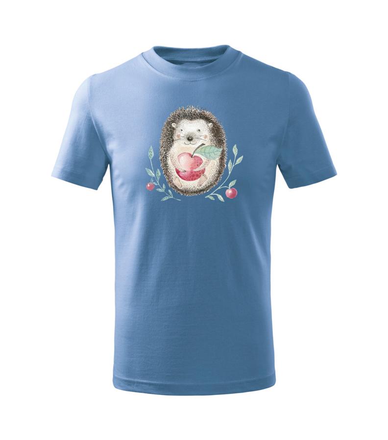 Bērnu t-krekls Ezītis / zils