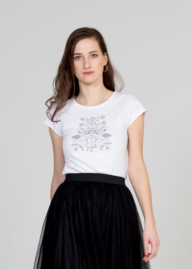 Sieviešu T-krekls Saulgrieži (atstarojošs)