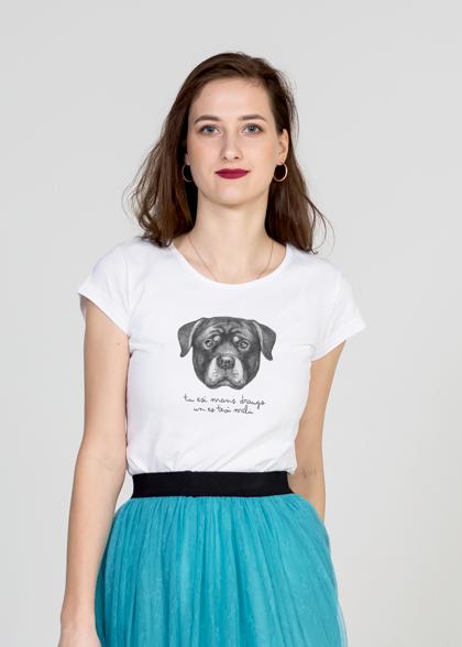 Sieviešu T-krekls Rotveilers