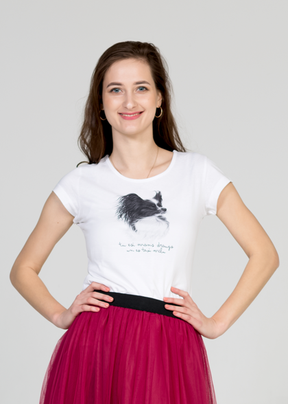 Women's T-Shirt Papillon