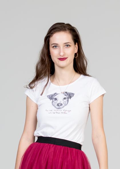 Sieviešu T-krekls Džeka Rasela terjers