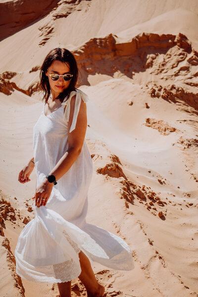 Lina kleita - balta