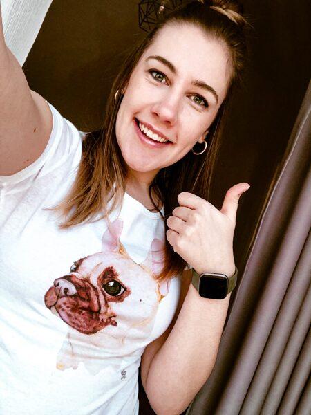Sieviešu t-krekls | Franču dāma Beta