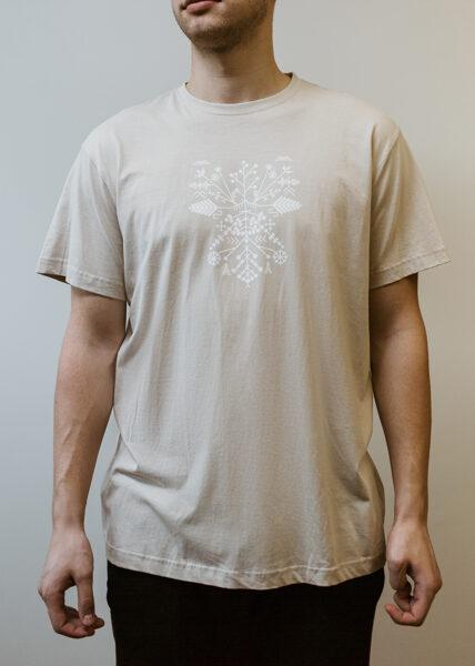 Men's Solstice t-shirt, beige