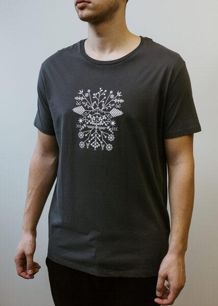 Men's Solstice t-shirt, dark grey