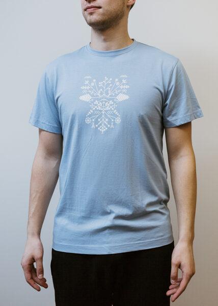 Men's Solstice t-shirt, light blue