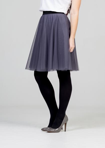 Tulle skirt - grey