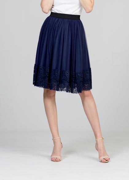 Tulle skirt - dark blue